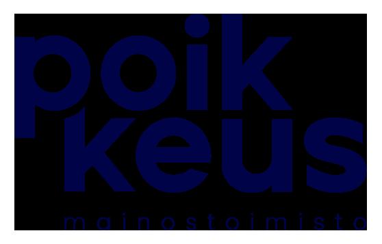 Mainostoimisto poikkeus logo