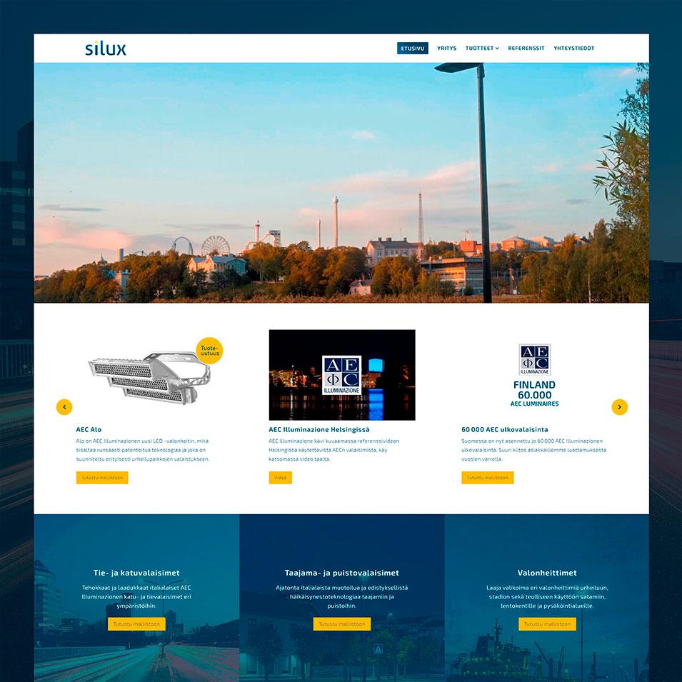 verkkosivut silux jälkeen